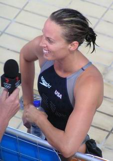 interviewed after winning 200 breast