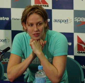 Jodie Henry press conference 100 free Aust Oly Trials