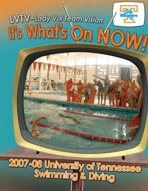 Tennessee Women Media Guide Cover 2008