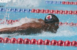 Sabir Muhammad at 2004 USMS Nationals, Indy