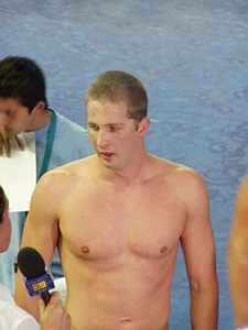 Ian Crocker Post 100 Fly World Record at 2003 Worlds