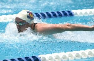 Susan von der Lippe at 2004 USMS Nationals, Indy