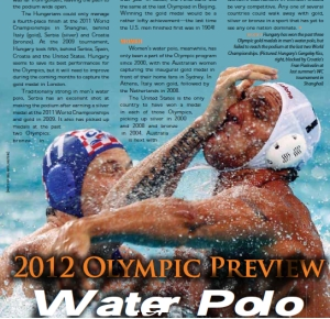Feb12, Water Polo