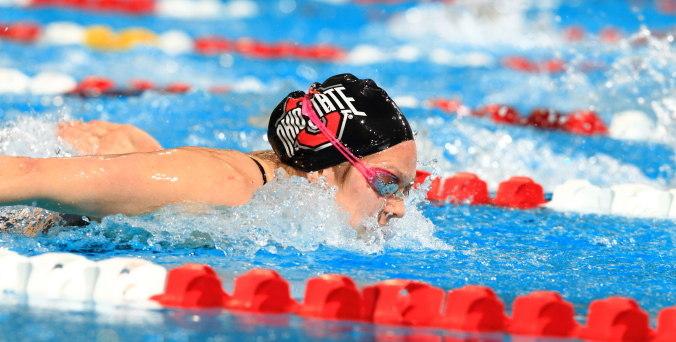 Ohio State Swimming Overwhelms Kenyon