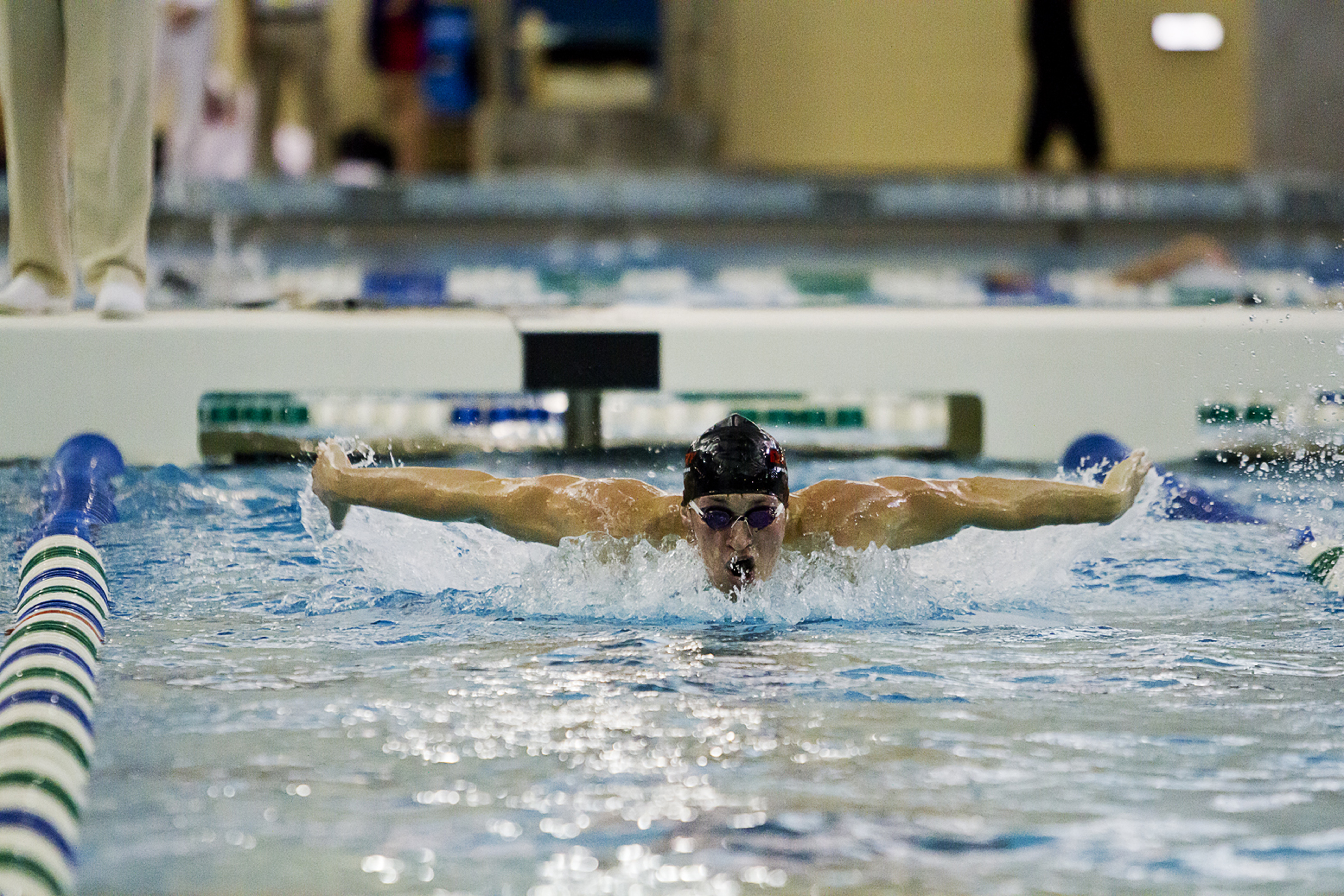 Spencer from Truman State Breaks Women's 100 Butterfly GLVC Record