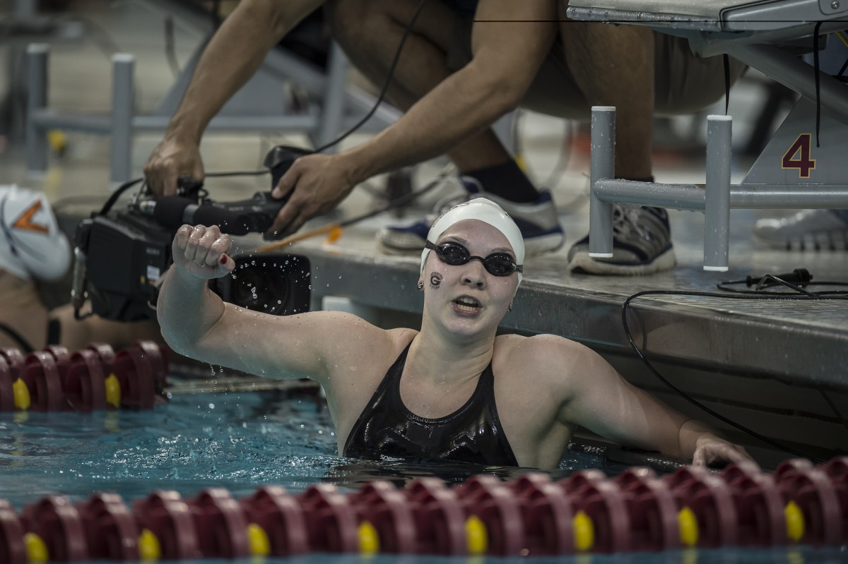 2016 ncaa division i women 39 s championships georgia wins ncaa record tying 8th 800 free relay - Dive recorder results ...