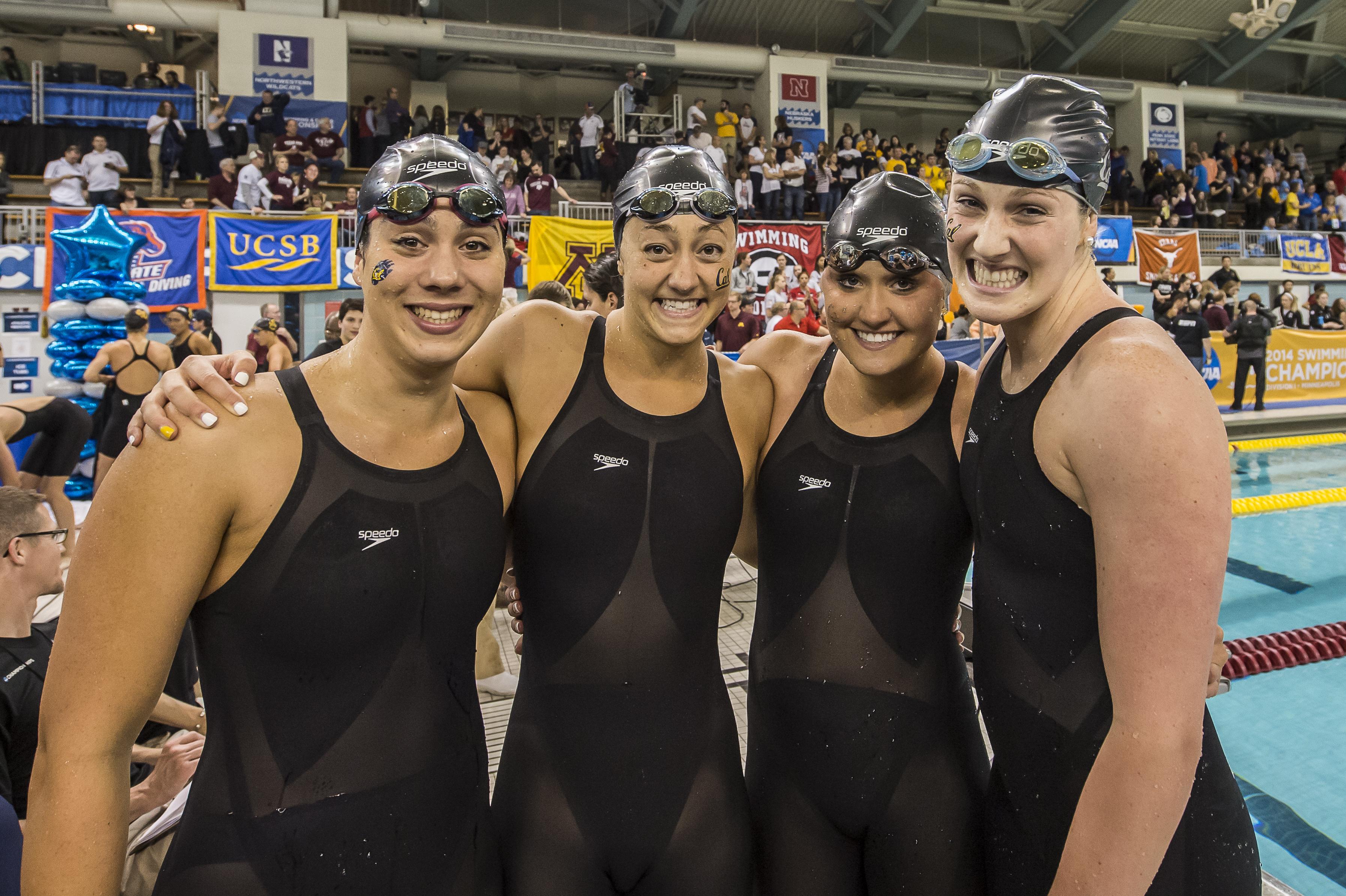 California Tops CSCAA NCAA DI Women's Rankings