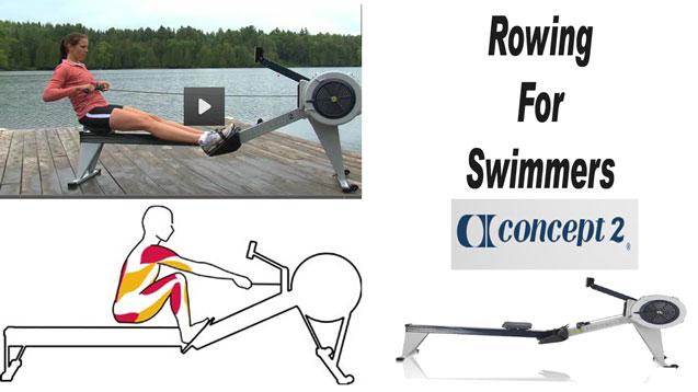 using the rowing machine