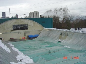 Swimming Pool Roof Collapses In Portland Oregon Swimming World News