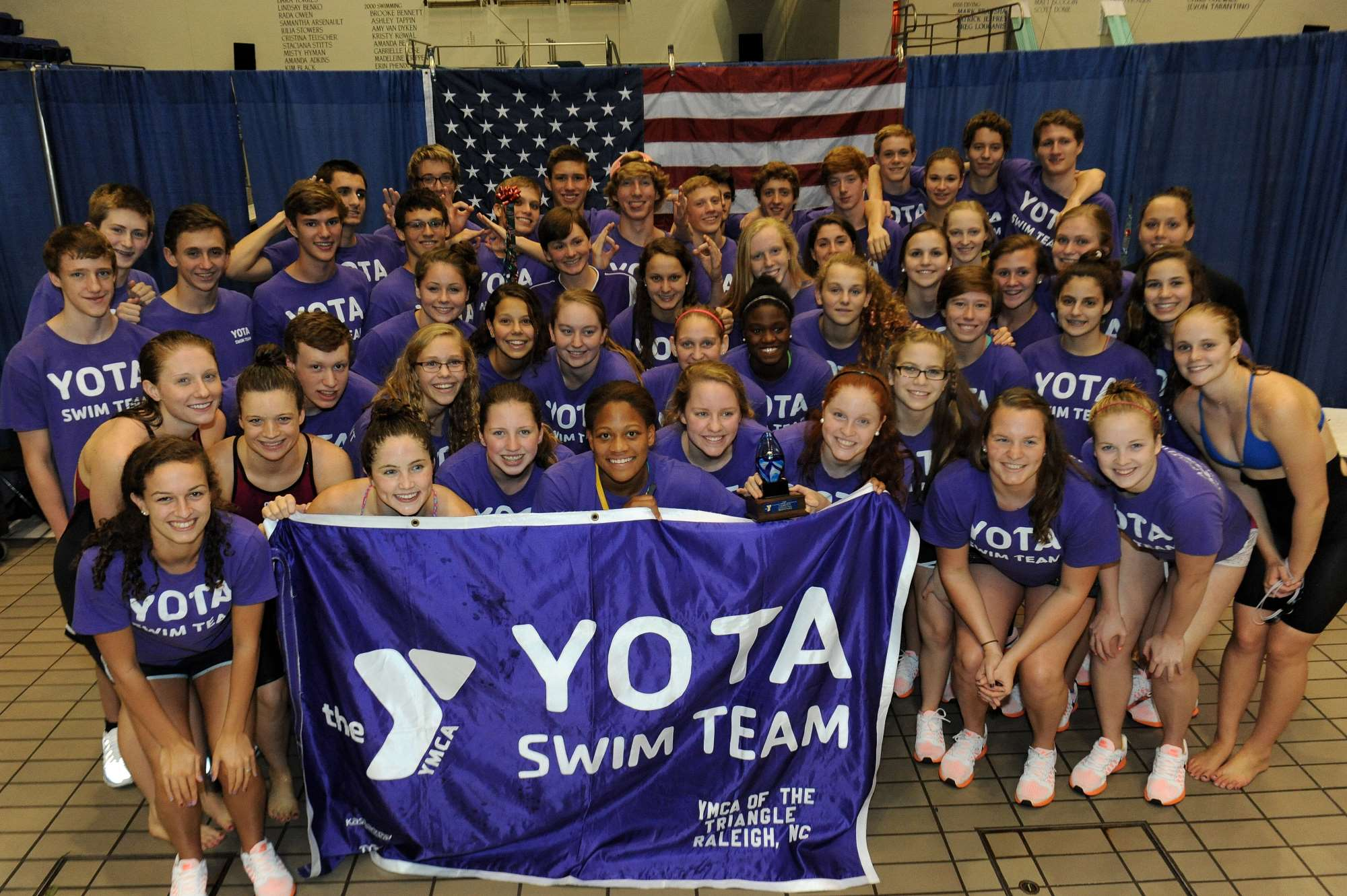 Jonathan kaplan andrew rogers join yota coaching staff swimming world news for Rogers high school swimming pool