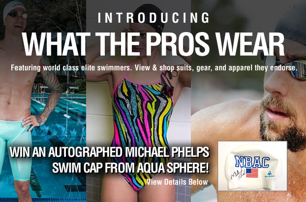 274b80b5def1 SwimOutlet.com Launches What the Pros Wear! - Swimming news - NewsLocker