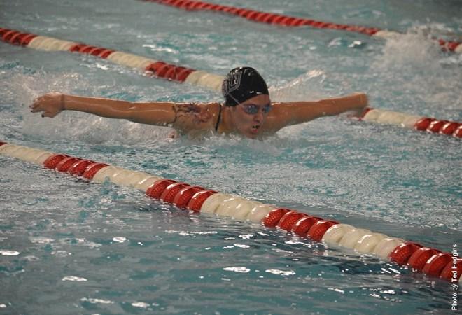 bloomsburg university swim teams top dickinson college