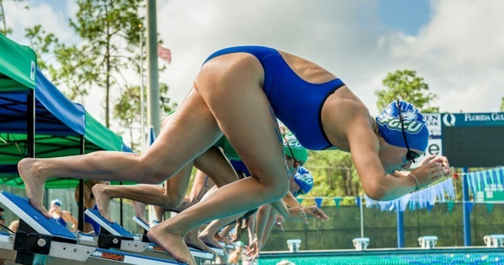 FGCU swimmer