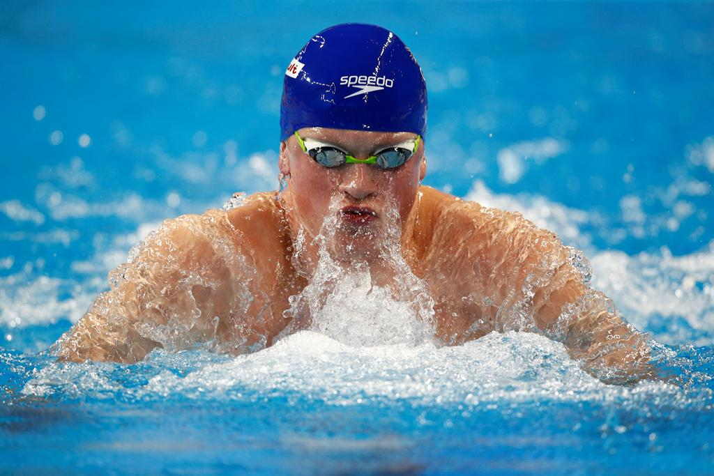 Race Video Adam Peaty Breaks 100 Breast World Record
