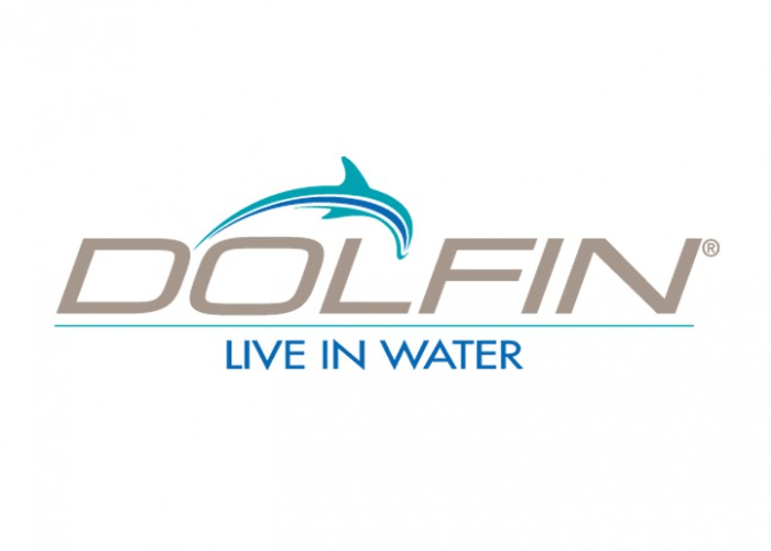 Dolfin Logo With Tagline