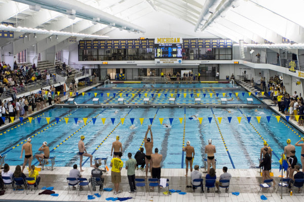 canham natatorium Michigan Swim Camp