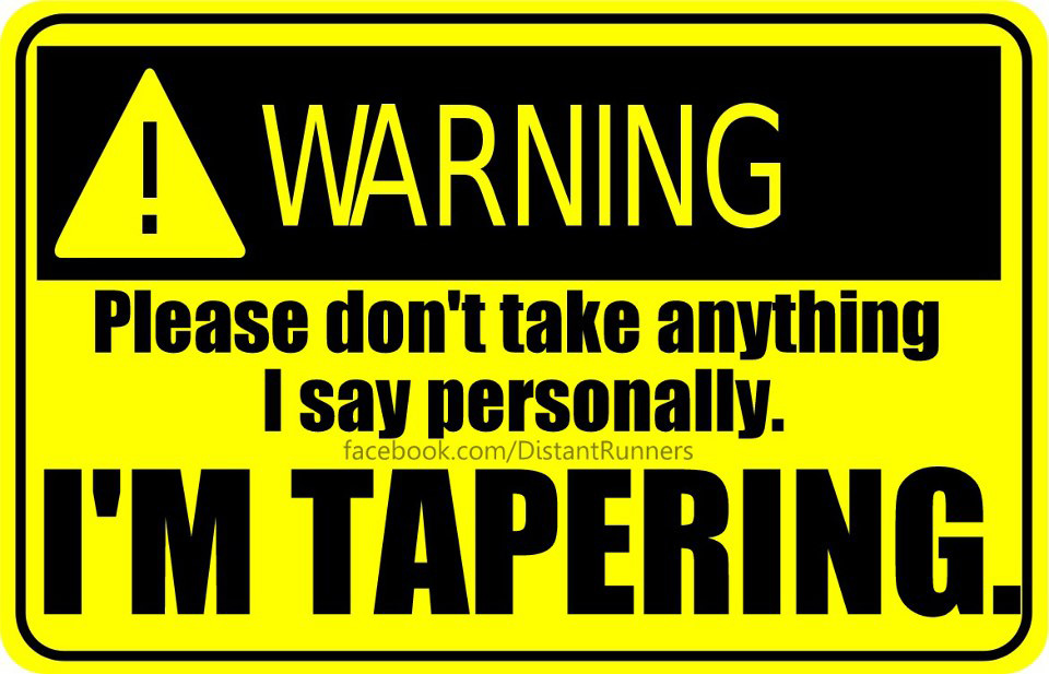 Warning Tapering