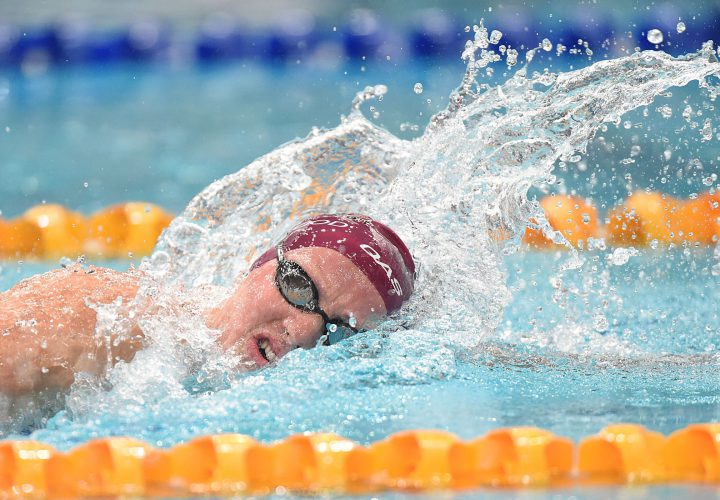 Jessica Ashwood Touches In 400 Free Meet Record Time In Santa Clara