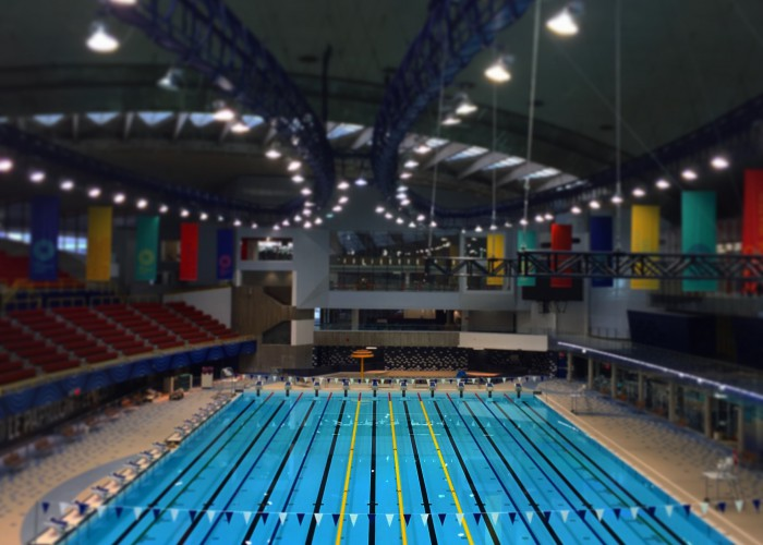 olympic stadium pool inside 2015