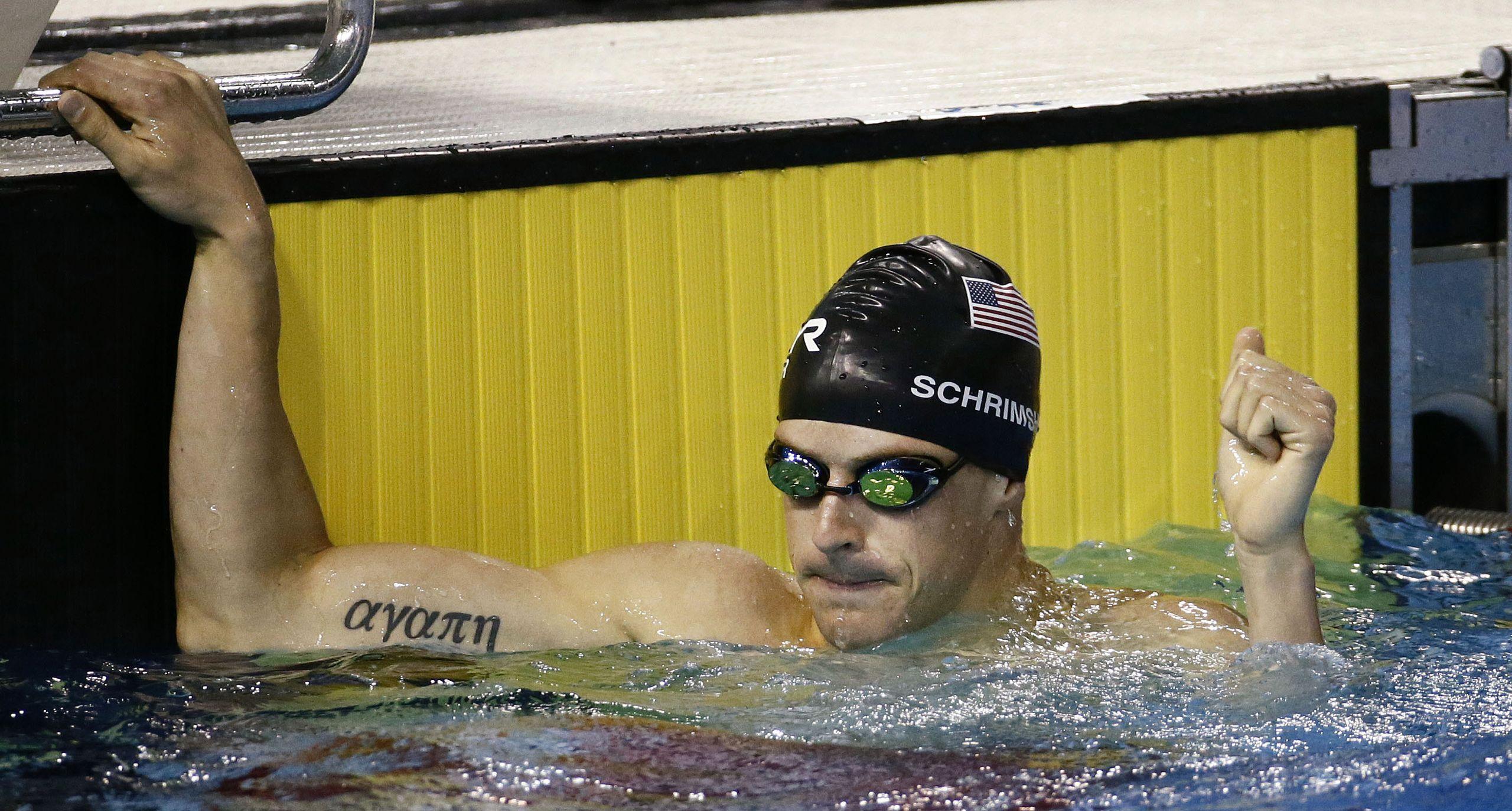 Nathan Schrimsher pentathlon
