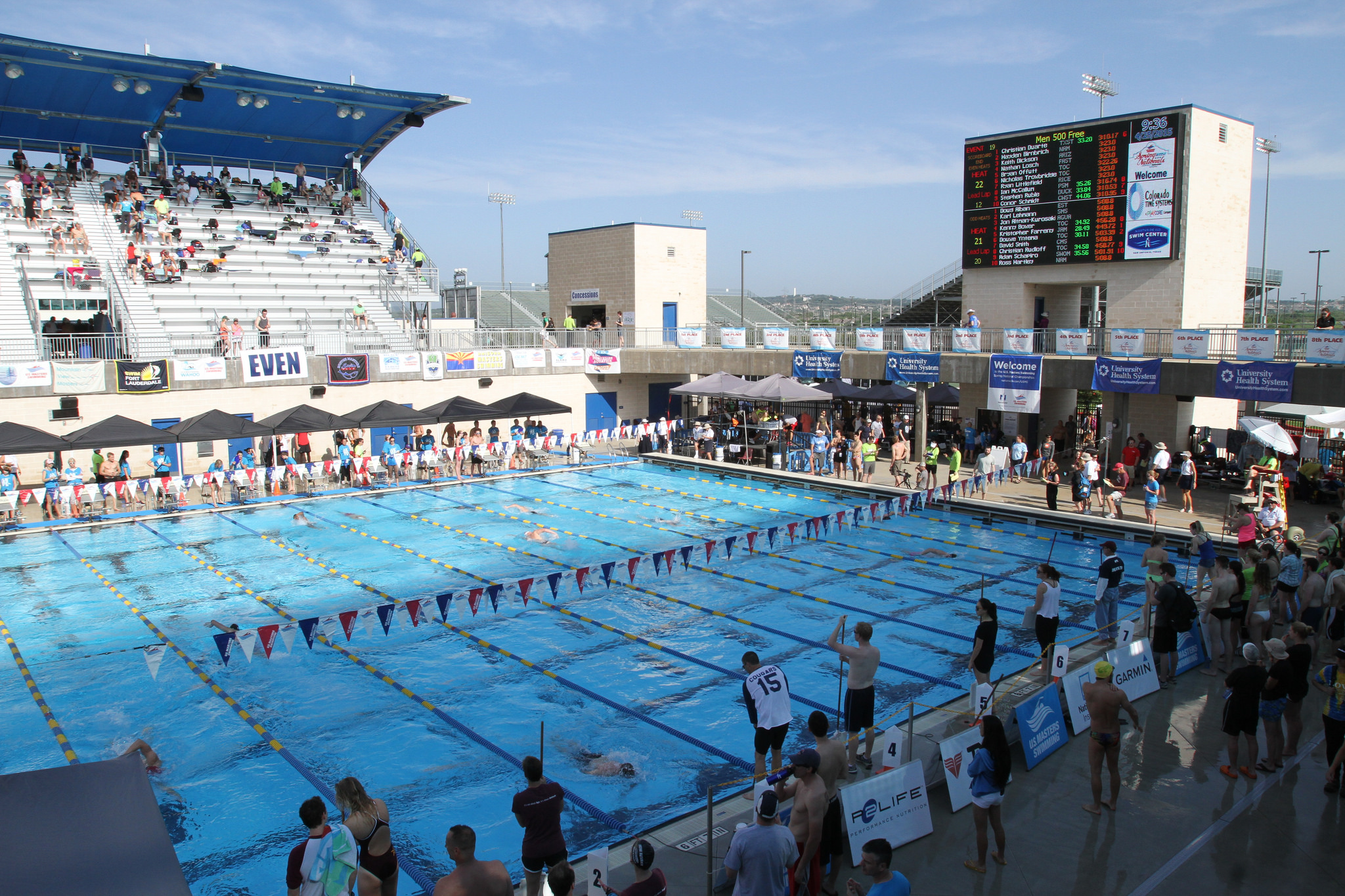 san antonio texas a swimming hub for the elite the novice
