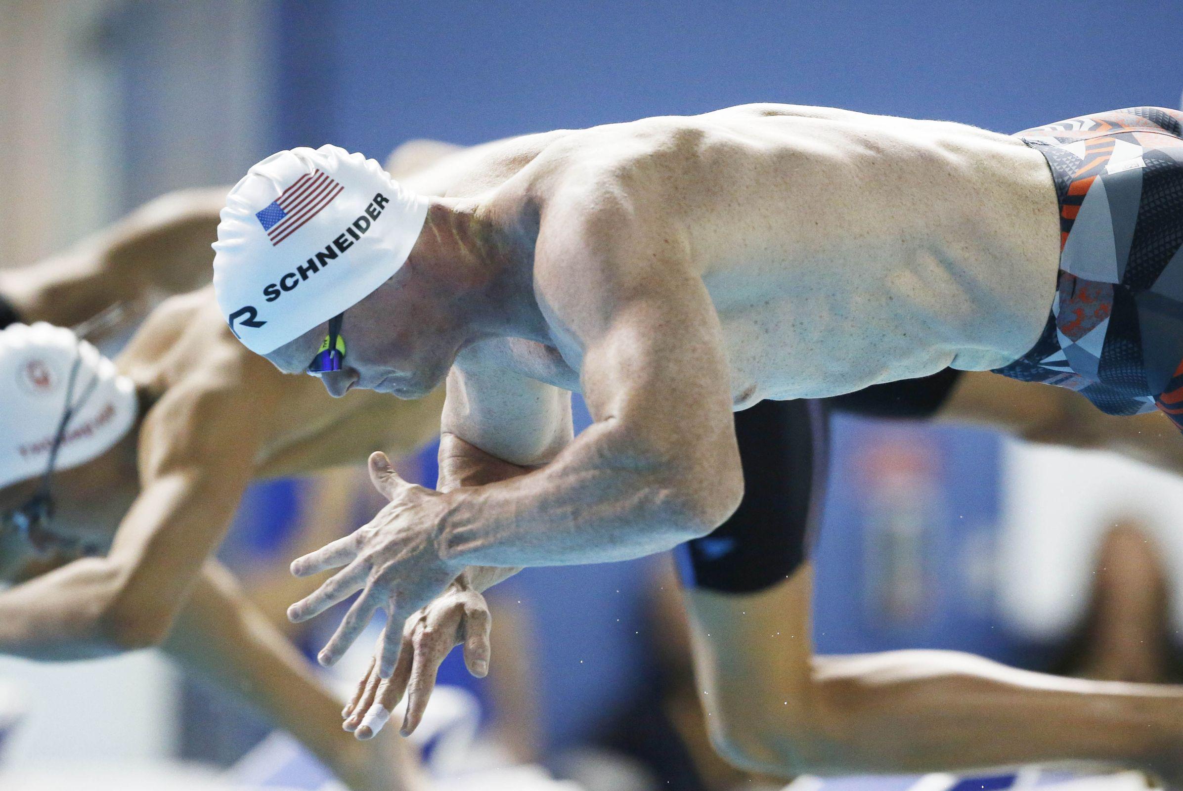 pan american games swimming results