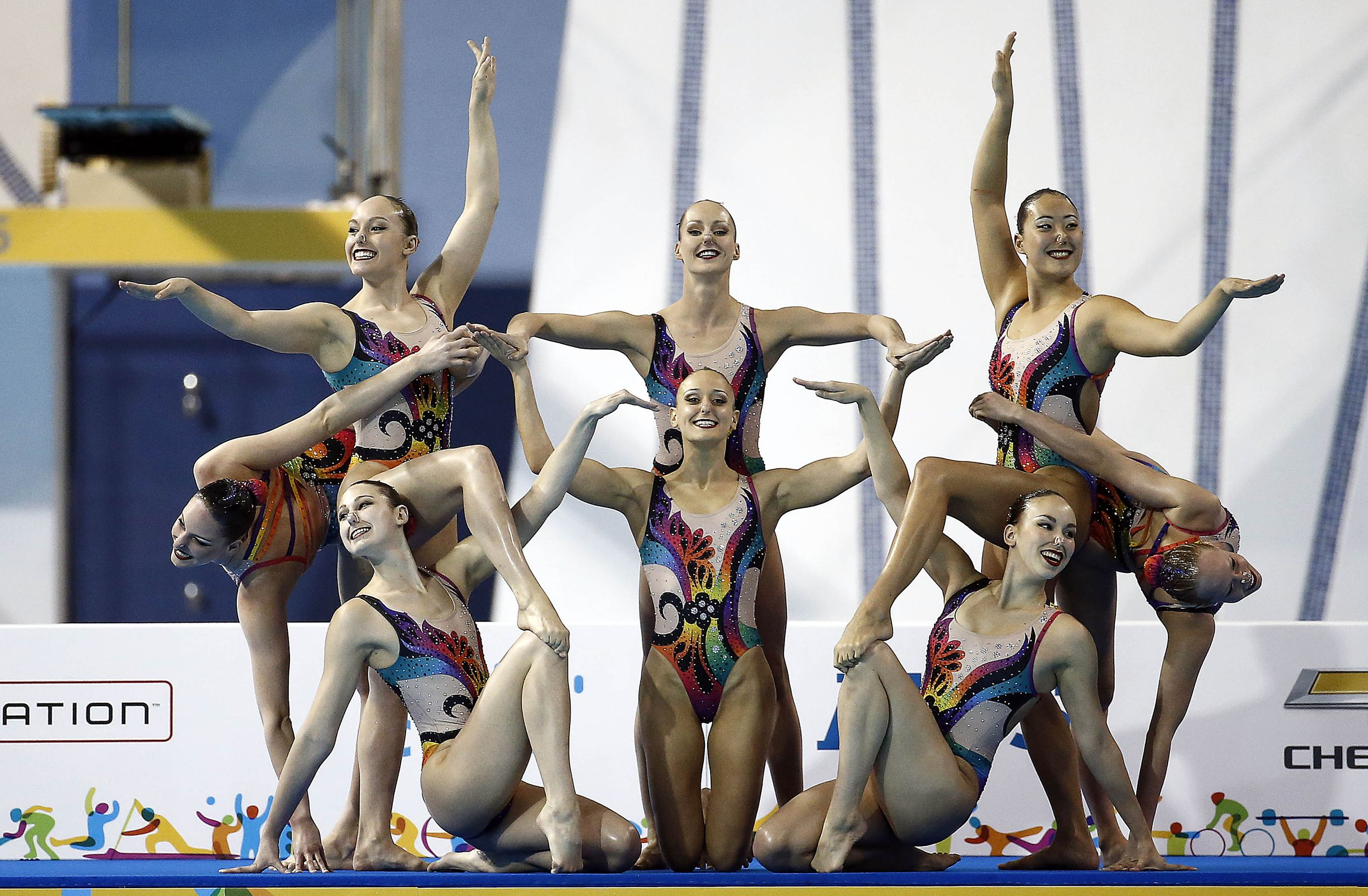 Swimming world presents the 2016 olympic preview synchronized