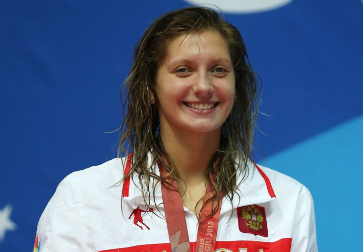 Svetlana Chimrova Breaks Own Russian Record in 100 Fly 57 ...