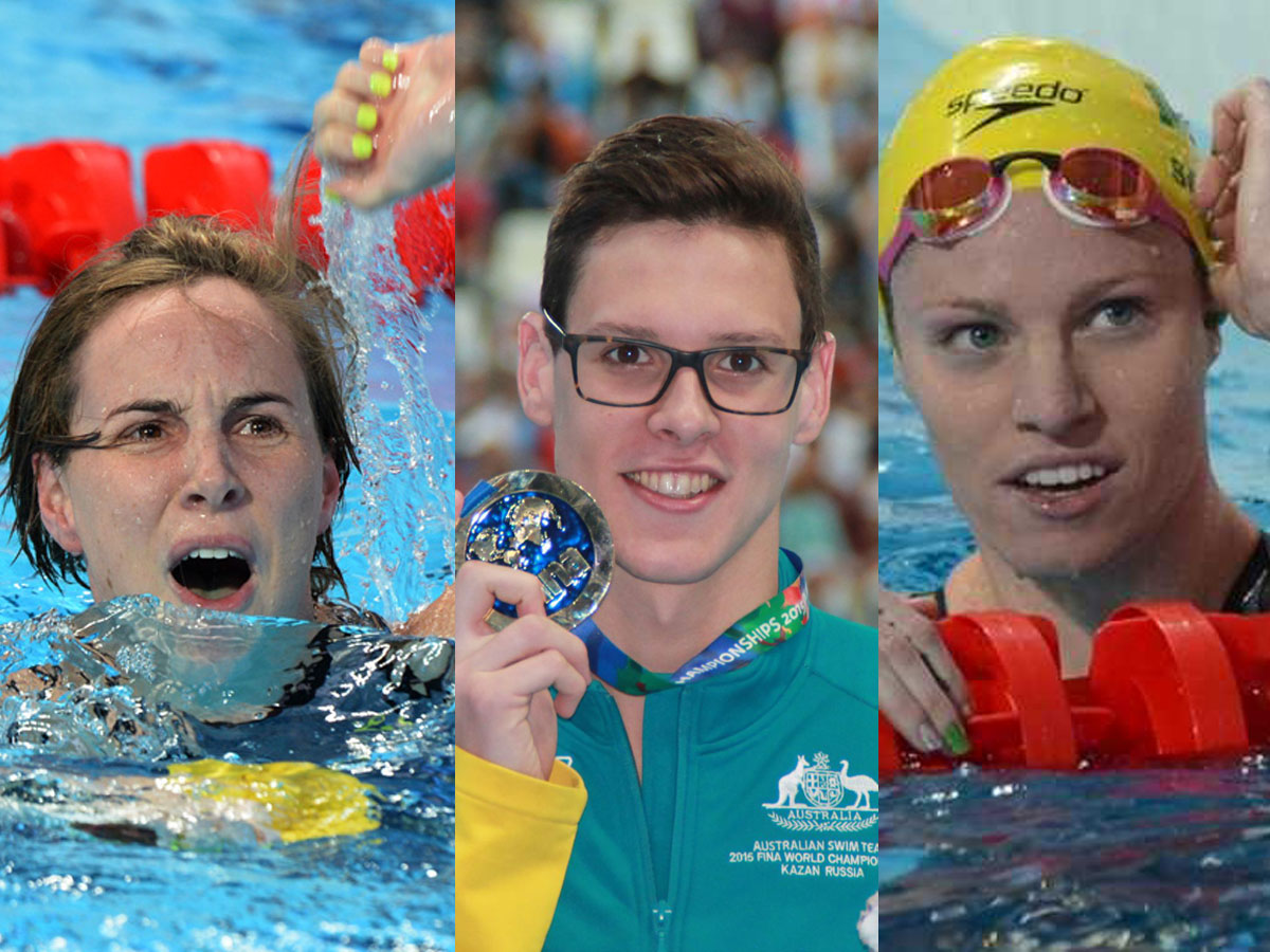 2015 Australia Swimmer of the Year candidates
