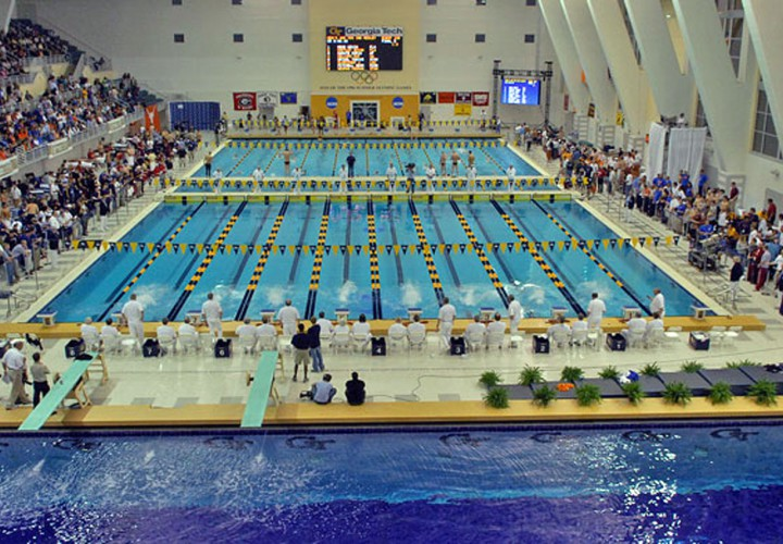 Georgia Tech Aquatic Center Getting New Scoreboards New Name