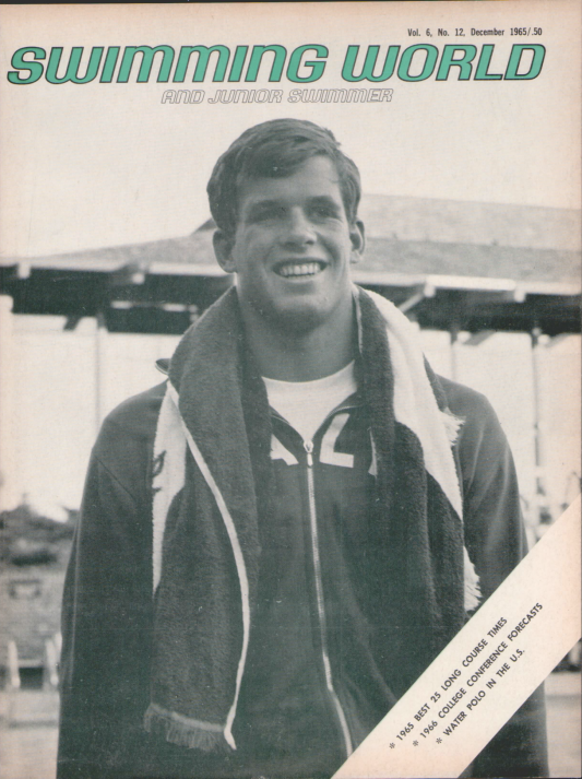 Swimming World Magazine December 1965 Issue- PDF ONLY - Cover