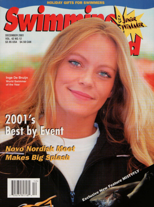 Swimming World Magazine December 2001 Issue- PDF ONLY - Cover