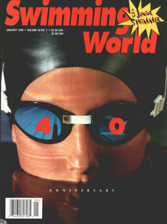 Swimming World Magazine January 1999 Issue- PDF ONLY - Cover