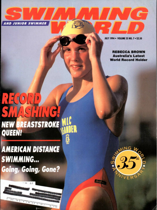 Swimming World Magazine July 1994 Issue- PDF ONLY - Cover