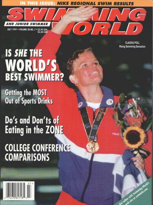 Swimming World Magazine July 1997 Issue- PDF ONLY - Cover