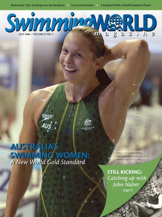 Swimming World Magazine July 2006 Issue- PDF ONLY - Cover