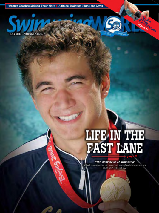 Swimming World Magazine July 2009 Issue- PDF ONLY - Cover