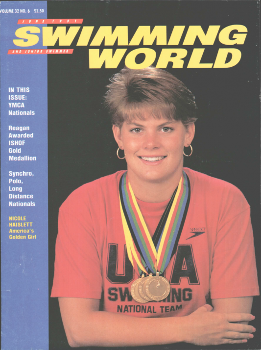 Swimming World Magazine June 1991 Issue- PDF ONLY - Cover
