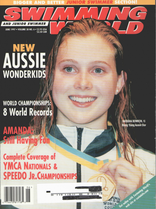 Swimming World Magazine June 1997 Issue- PDF ONLY - Cover
