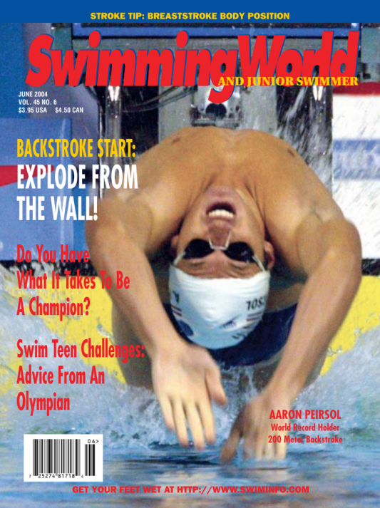 Swimming World Magazine June 2004 Issue- PDF ONLY - Cover