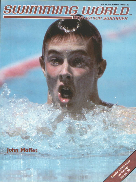 Swimming World Magazine March 1980 Issue- PDF ONLY - Cover