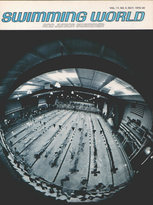 Swimming World Magazine May 1970 Issue- PDF ONLY - Cover