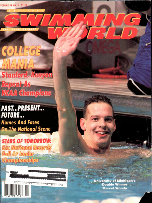 Swimming World Magazine May 1993 Issue- PDF ONLY - Cover