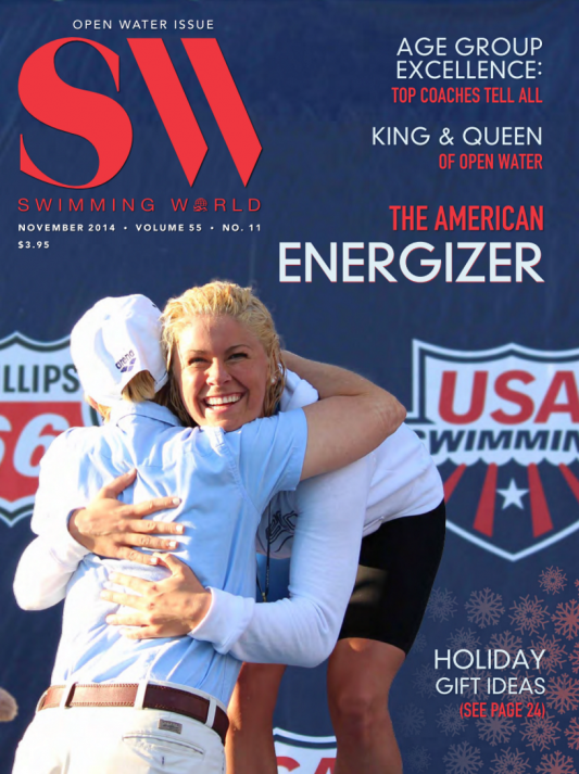 Swimming World Magazine November 2014 Issue- PDF ONLY - Cover