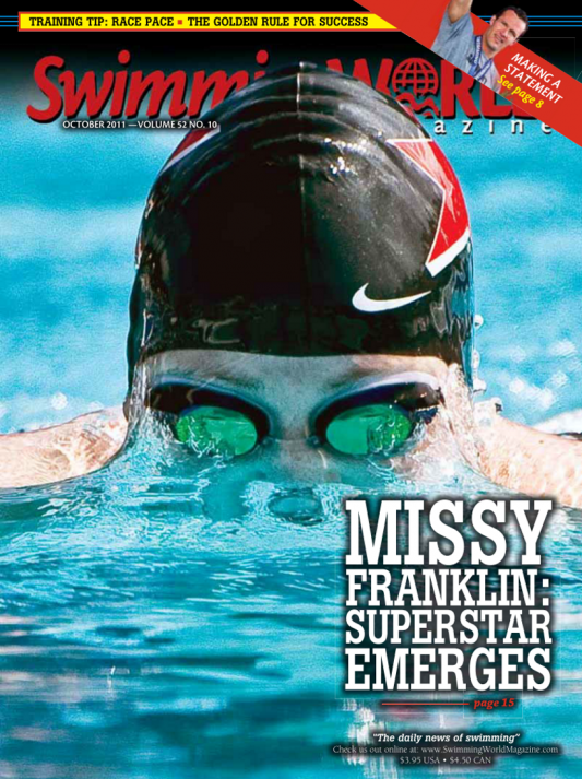 Swimming World Magazine October 2011 Issue- PDF ONLY - Cover