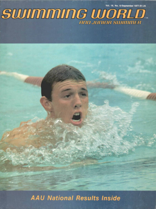 Swimming World Magazine September 1977 Issue- PDF ONLY - Cover