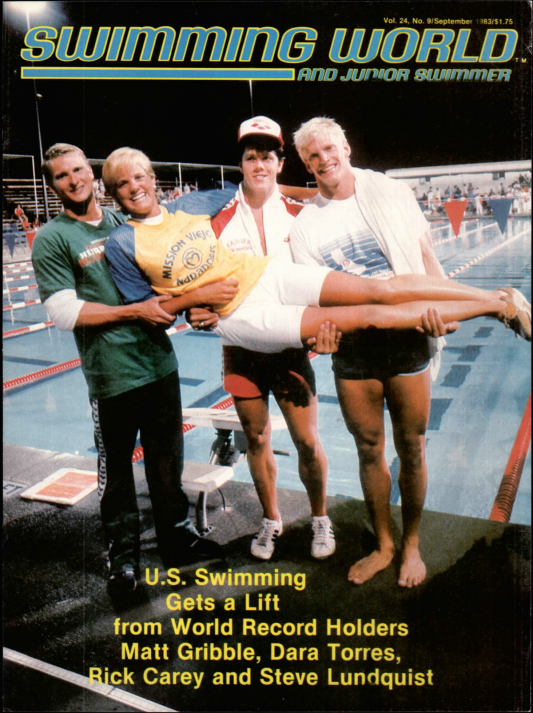 Swimming World Magazine September 1983 Issue- PDF ONLY - Cover