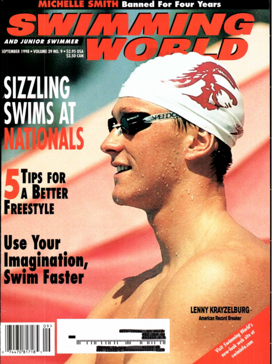 Swimming World Magazine September 1998 Issue- PDF ONLY - Cover
