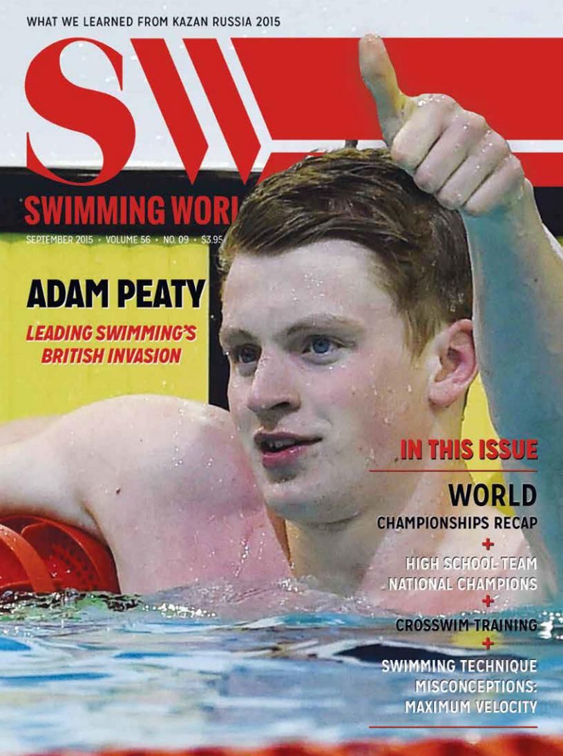 Swimming World Magazine September 2015 Issue- PDF ONLY
