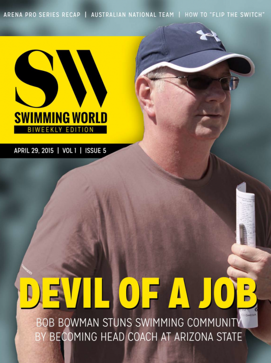 Swimming World Biweekly: Now Available – Top Internet Stories - Cover